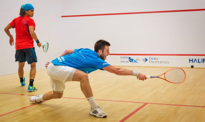 How many points to win a game of squash? - Answers
