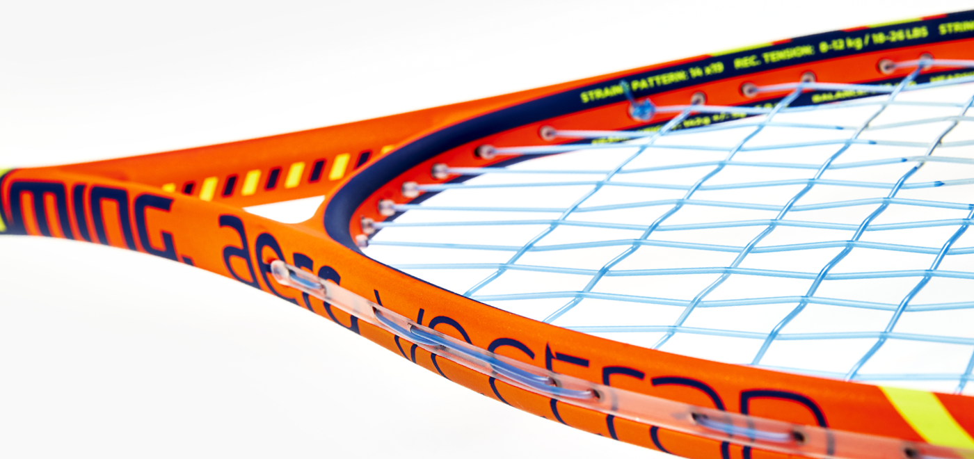 how to restring a squash racket