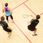 squash training session
