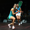 Move effectively through the middle of the squash court