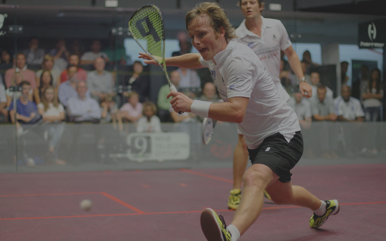 Peter Nicol Squash Player