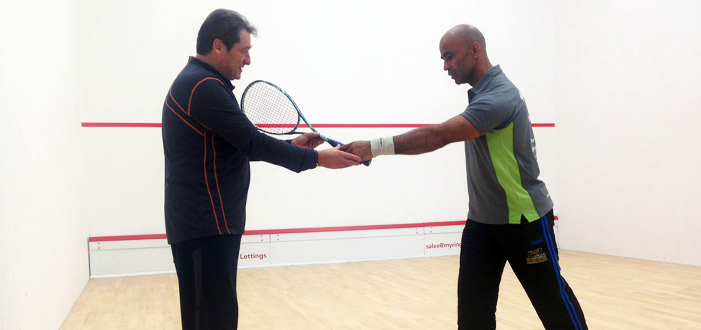 Squash workshop with David Pearson
