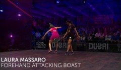 Laura Massaro: Forehand attacking boast