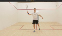 Nick Matthew: Hunting the forehand volley drop