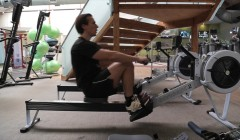 Gym machines: Rower