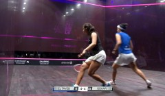 Swing interference - Tayeb vs Gohar