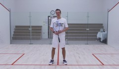 Routine to practice counter drop - straight volley