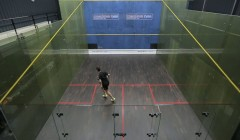 Backhand side ghosting
