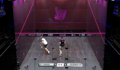 Front wall interference - Rosner v Farag