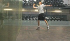 Volleying routine of long, long, short