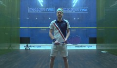 Forehand volley drop test: Tom Richards
