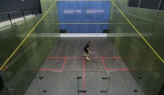 Forehand side ghosting
