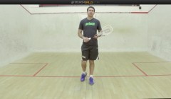 Early racket preparation with John White