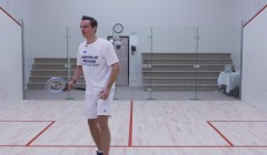 Routine to practice volley drop - straight volley
