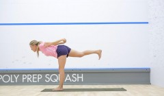 Yoga for squash: Balance and stability