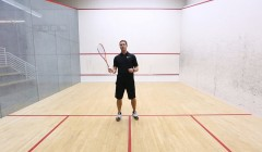 Racket position