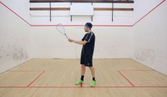Forehand wrist position