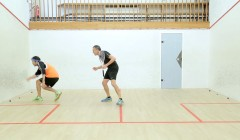 Forehand three point ghosting demonstration