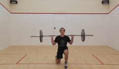 Split squat (with weight)
