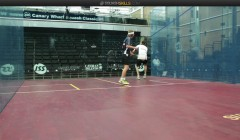 Boast, lob, deep forehand volley cg