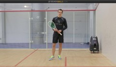 Forehand cross court nick technical tips
