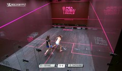 Cross court in the modern game