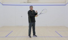 Basic backhand grip