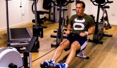 Rowing machine intervals