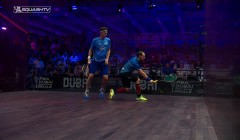 Gregory Gaultier's backhand kill