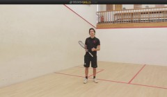 Coach education: the forehand cross court lob