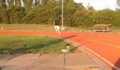 Fitness test: 400m test (anaerobic capacity)