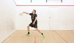 Common faults on the forehand volley