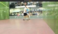 David Palmer's backhand kill