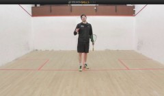 Boast, cross court lob, backhand volley with options