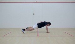 One handed press-up
