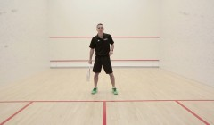 Side to side volley test: Thierry Lincou