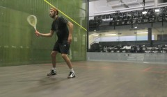 Crosscourt volley test
