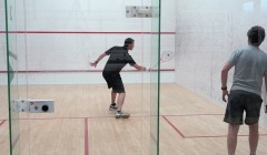 Super slow mo: David Palmer volley drills