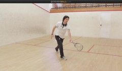 Beginner course: forehand cross court drive
