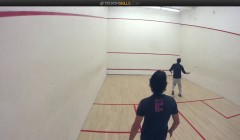 Coach education: forehand cross court drive from the front