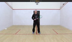 Forehand drives with target