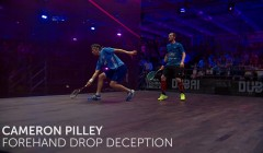 Cameron Pilley: Forehand deception