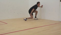 Fitness test: 10 court sprint test (speed/agility)