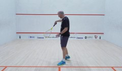 Using the backhand flick/push