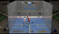 Attacking cross court angles