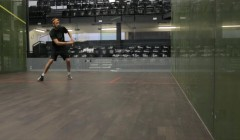 Side to side volley test
