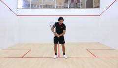The mechanics of the backhand