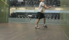 Volleys up and down the court