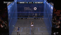 Take control with the cross court volley
