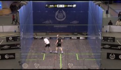 Forehand trickle boast